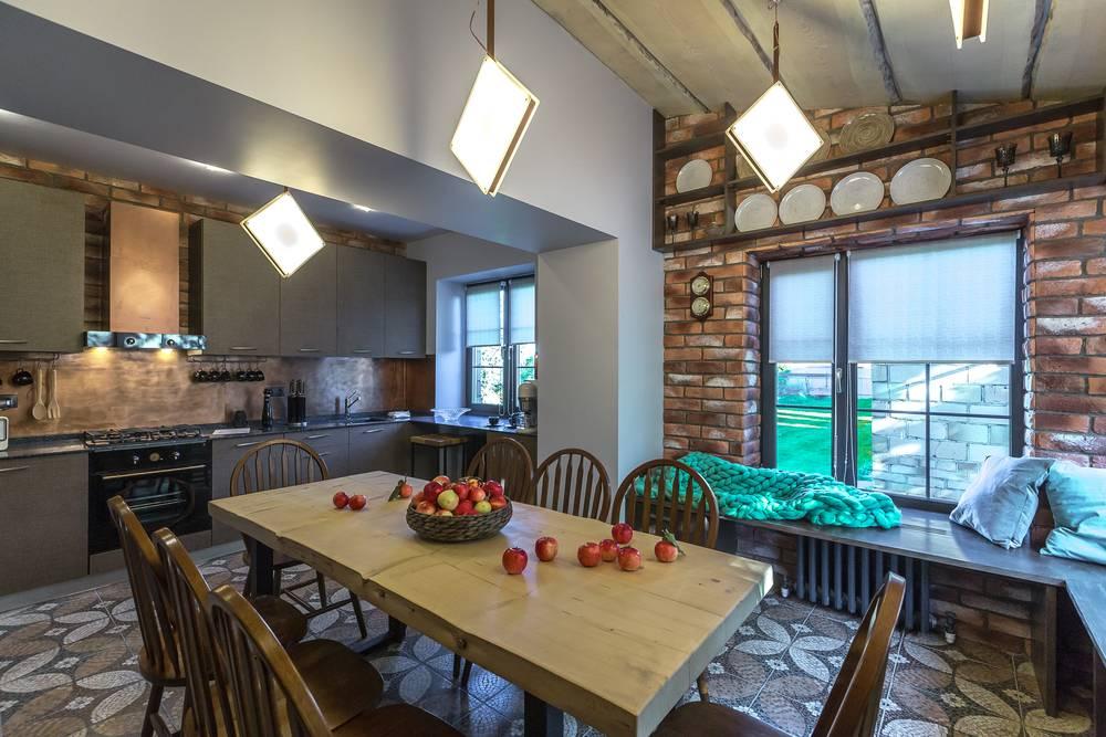 Дачный ответ кухня гостиная фотогалерея